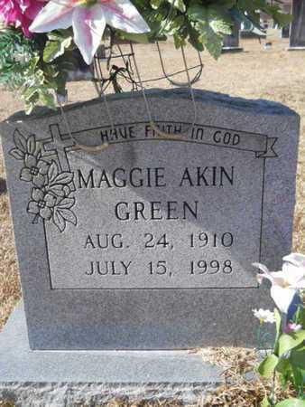 GREEN, MAGGIE - Union County, Louisiana | MAGGIE GREEN - Louisiana Gravestone Photos