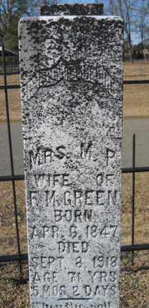 GREEN, M P - Union County, Louisiana | M P GREEN - Louisiana Gravestone Photos