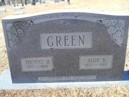 GREEN, ALLIE B - Union County, Louisiana   ALLIE B GREEN - Louisiana Gravestone Photos