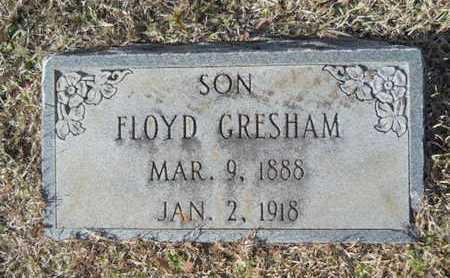 GRESHAM, FLOYD - Union County, Louisiana   FLOYD GRESHAM - Louisiana Gravestone Photos