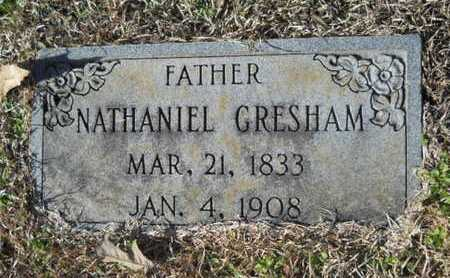 GRESHAM, NATHANIEL - Union County, Louisiana | NATHANIEL GRESHAM - Louisiana Gravestone Photos