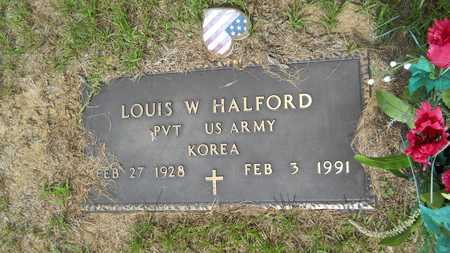HALFORD, LOUIS W (VETERAN KOR) - Union County, Louisiana   LOUIS W (VETERAN KOR) HALFORD - Louisiana Gravestone Photos