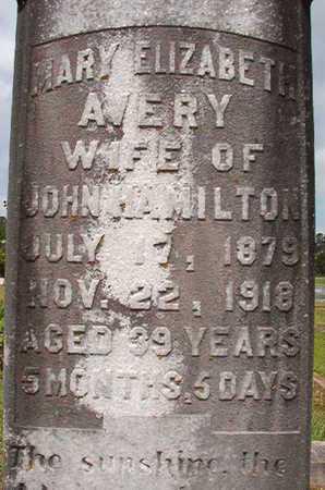 AVERY HAMILTON, MARY ELIZABETH 9CLOSEUP) - Union County, Louisiana | MARY ELIZABETH 9CLOSEUP) AVERY HAMILTON - Louisiana Gravestone Photos