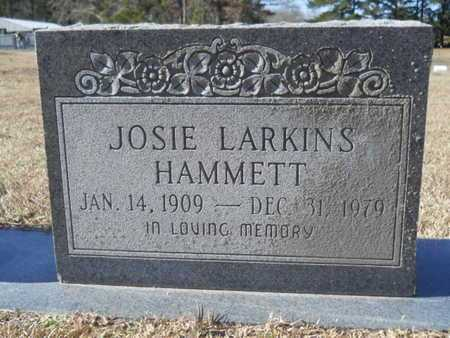 HAMMETT, JOSIE - Union County, Louisiana | JOSIE HAMMETT - Louisiana Gravestone Photos