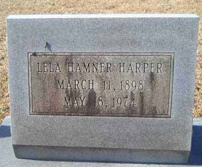 HAMNER HARPER, LELA - Union County, Louisiana | LELA HAMNER HARPER - Louisiana Gravestone Photos