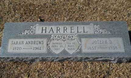 HARRELL, SARAH - Union County, Louisiana | SARAH HARRELL - Louisiana Gravestone Photos