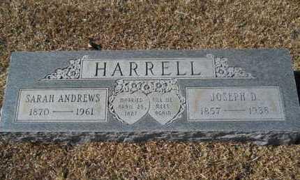 ANDREWS HARRELL, SARAH - Union County, Louisiana | SARAH ANDREWS HARRELL - Louisiana Gravestone Photos