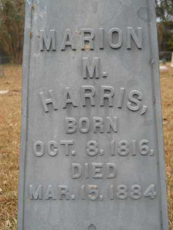 HARRIS, MARION M (CLOSE UP) - Union County, Louisiana | MARION M (CLOSE UP) HARRIS - Louisiana Gravestone Photos