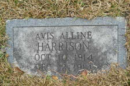 HARRISON, AVIS ALLINE - Union County, Louisiana   AVIS ALLINE HARRISON - Louisiana Gravestone Photos