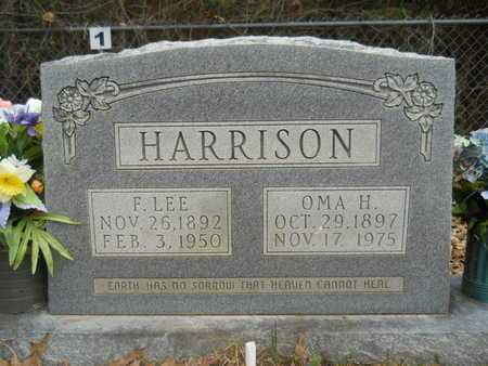 HARRISON, OMA H - Union County, Louisiana | OMA H HARRISON - Louisiana Gravestone Photos