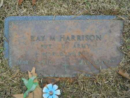 HARRISON, RAY M (VETERAN WWII) - Union County, Louisiana | RAY M (VETERAN WWII) HARRISON - Louisiana Gravestone Photos