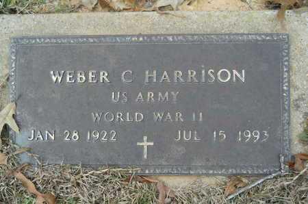 HARRISON, WEBER C (VETERAN WWII) - Union County, Louisiana | WEBER C (VETERAN WWII) HARRISON - Louisiana Gravestone Photos