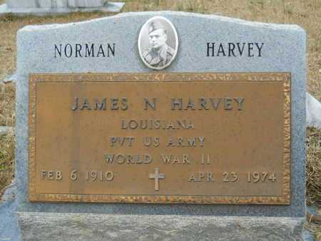 HARVEY, JAMES NORMAN (VETERAN WWII) - Union County, Louisiana | JAMES NORMAN (VETERAN WWII) HARVEY - Louisiana Gravestone Photos