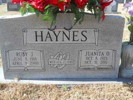 HAYNES, JUANITA - Union County, Louisiana | JUANITA HAYNES - Louisiana Gravestone Photos