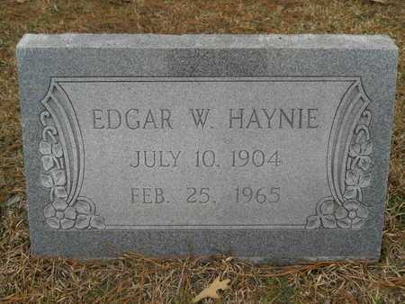 HAYNIE, EDGAR W - Union County, Louisiana | EDGAR W HAYNIE - Louisiana Gravestone Photos