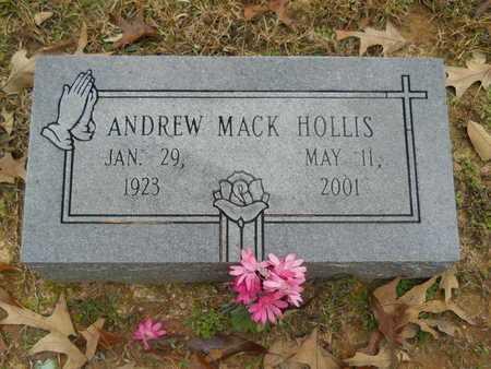 HOLLIS, ANDREW MACK - Union County, Louisiana   ANDREW MACK HOLLIS - Louisiana Gravestone Photos