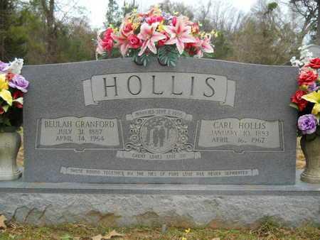 CRANFORD HOLLIS, BEULAH - Union County, Louisiana   BEULAH CRANFORD HOLLIS - Louisiana Gravestone Photos