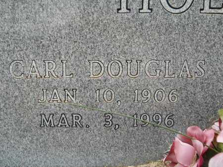HOLLOWAY, CARL DOUGLAS (CLOSE UP) - Union County, Louisiana | CARL DOUGLAS (CLOSE UP) HOLLOWAY - Louisiana Gravestone Photos