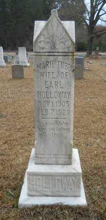 TUBB HOLLOWAY, MARIE - Union County, Louisiana   MARIE TUBB HOLLOWAY - Louisiana Gravestone Photos