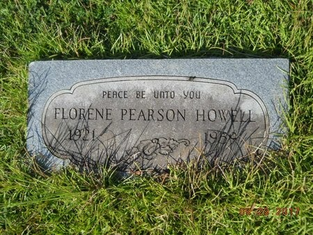 HOWELL, FLORENE - Union County, Louisiana | FLORENE HOWELL - Louisiana Gravestone Photos