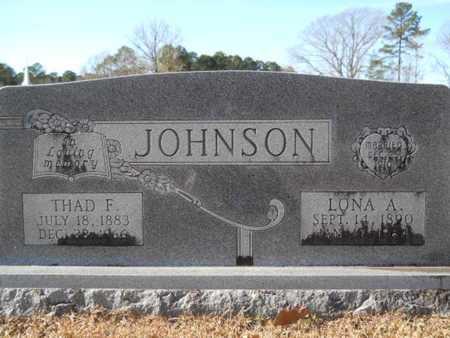 ALLGOOD JOHNSON, LONA - Union County, Louisiana | LONA ALLGOOD JOHNSON - Louisiana Gravestone Photos