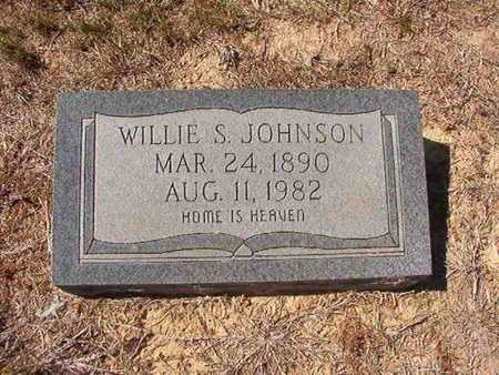 JOHNSON, WILLIE S - Union County, Louisiana | WILLIE S JOHNSON - Louisiana Gravestone Photos