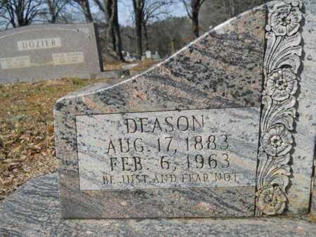 JONES, DEASON (CLOSE UP) - Union County, Louisiana | DEASON (CLOSE UP) JONES - Louisiana Gravestone Photos