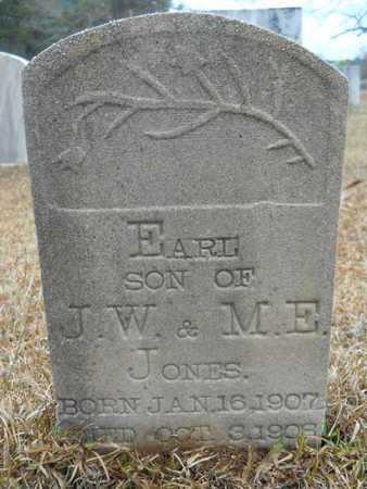 JONES, EARL - Union County, Louisiana | EARL JONES - Louisiana Gravestone Photos