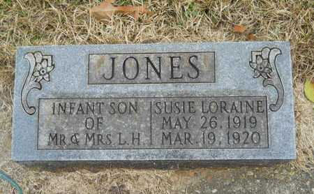 JONES, SUSIE LORAINE - Union County, Louisiana | SUSIE LORAINE JONES - Louisiana Gravestone Photos