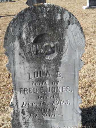 JONES, LULA B - Union County, Louisiana | LULA B JONES - Louisiana Gravestone Photos