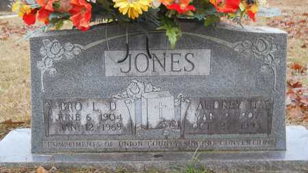 JONES, L D - Union County, Louisiana | L D JONES - Louisiana Gravestone Photos