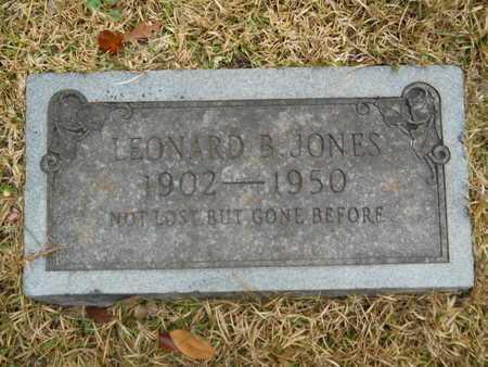 JONES, LEONARD B - Union County, Louisiana | LEONARD B JONES - Louisiana Gravestone Photos