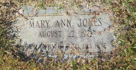 JONES, MARY ANN - Union County, Louisiana | MARY ANN JONES - Louisiana Gravestone Photos