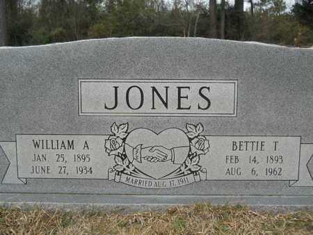 JONES, WILLIAM A - Union County, Louisiana | WILLIAM A JONES - Louisiana Gravestone Photos