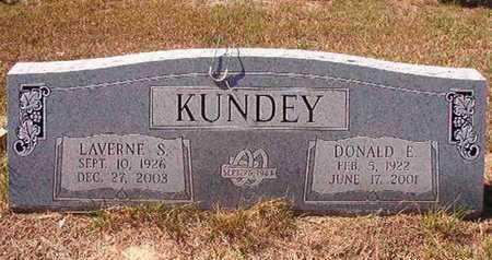 KUNDEY, DONALD E - Union County, Louisiana   DONALD E KUNDEY - Louisiana Gravestone Photos
