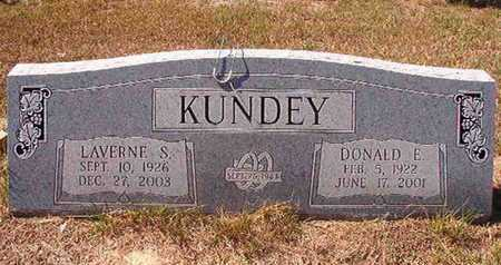 KUNDEY, LAVERNE S - Union County, Louisiana | LAVERNE S KUNDEY - Louisiana Gravestone Photos