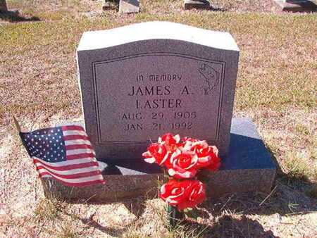 LASTER, JAMES A - Union County, Louisiana | JAMES A LASTER - Louisiana Gravestone Photos