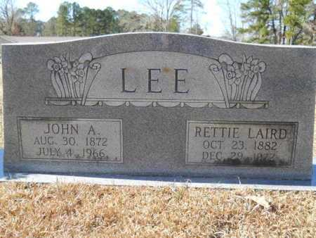 LEE, JOHN A - Union County, Louisiana | JOHN A LEE - Louisiana Gravestone Photos