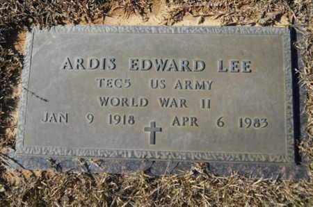 LEE, ARDIS EDWARD (VETERAN WWII) - Union County, Louisiana | ARDIS EDWARD (VETERAN WWII) LEE - Louisiana Gravestone Photos