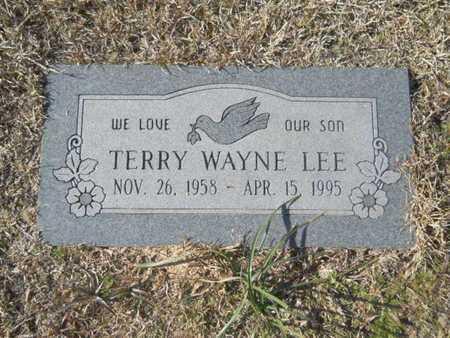 LEE, TERRY WAYNE - Union County, Louisiana   TERRY WAYNE LEE - Louisiana Gravestone Photos
