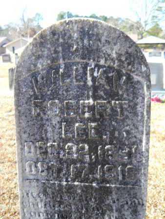 LEE, WILLIAM ROBERT - Union County, Louisiana | WILLIAM ROBERT LEE - Louisiana Gravestone Photos
