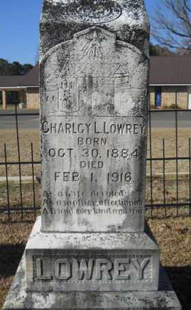 LOWREY, CHARLCY L - Union County, Louisiana | CHARLCY L LOWREY - Louisiana Gravestone Photos