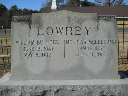 LOWREY, WILLIAM BULLOCK - Union County, Louisiana | WILLIAM BULLOCK LOWREY - Louisiana Gravestone Photos