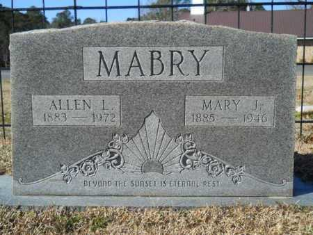 MABRY, ALLEN L - Union County, Louisiana | ALLEN L MABRY - Louisiana Gravestone Photos