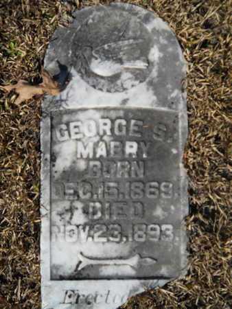 MABRY, GEORGE S - Union County, Louisiana | GEORGE S MABRY - Louisiana Gravestone Photos