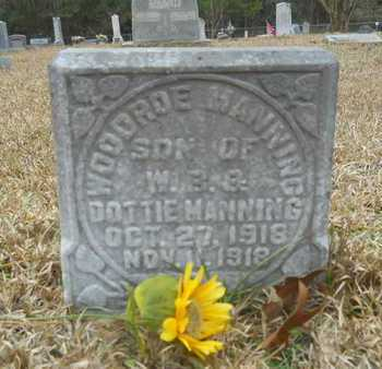 MANNING, WOODROE - Union County, Louisiana   WOODROE MANNING - Louisiana Gravestone Photos