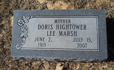 HIGHTOWER MARSH, DORIS - Union County, Louisiana | DORIS HIGHTOWER MARSH - Louisiana Gravestone Photos