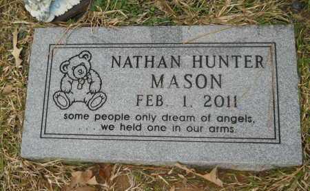 MASON, NATHAN HUNTER (CLOSE UP) - Union County, Louisiana | NATHAN HUNTER (CLOSE UP) MASON - Louisiana Gravestone Photos