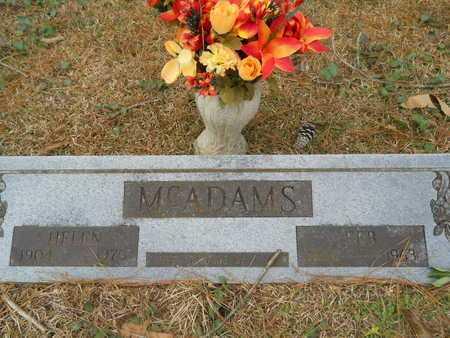 MCADAMS, FEB - Union County, Louisiana | FEB MCADAMS - Louisiana Gravestone Photos