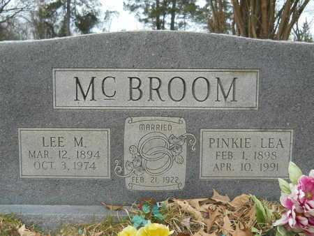 MCBROOM, PINKIE LEA - Union County, Louisiana | PINKIE LEA MCBROOM - Louisiana Gravestone Photos